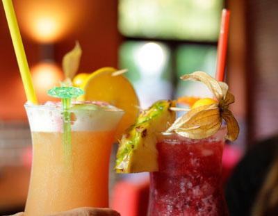 erfrischende Cocktails